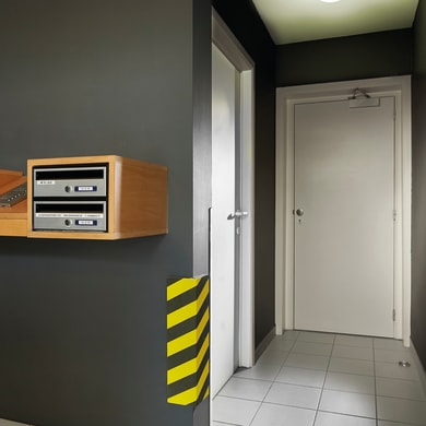 Protezione per garage in polietilene L 50 x H 25 cm multicolor