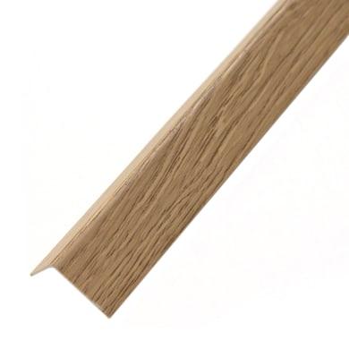 Profilo angolo STANDERS in pvc 1 m x 1.95 cm faggio