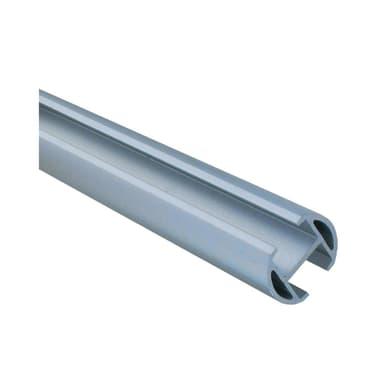 Bastone per tenda estensibile Ib+ in metallo Ø20mm cromo satinato da 200