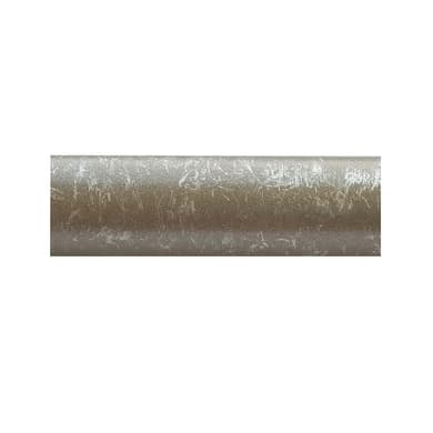 Bastone per tenda Kama in metallo Ø20mm grigio anticato 150 cm INSPIRE