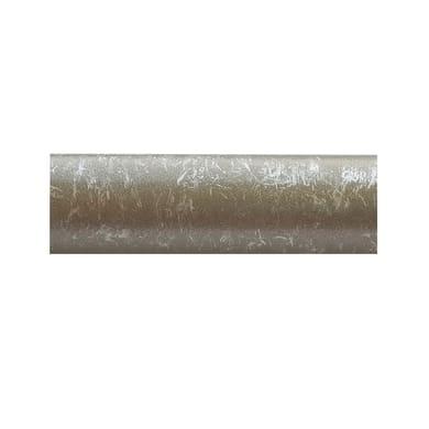 Bastone per tenda Kama in metallo Ø20mm grigio anticato 250 cm INSPIRE