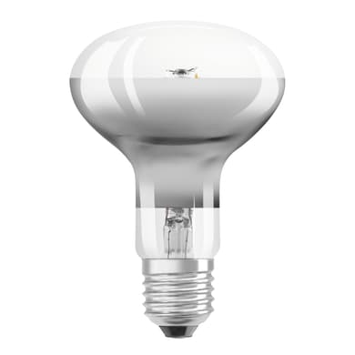 Lampadina LED, E27, Faretto, Trasparente, Luce calda, 4.3W=360LM (equiv 32 W), 36° , OSRAM