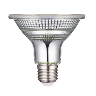 Lampadina LED, E27, Faretto, Trasparente, Luce calda, 10.5W=875LM (equiv 100 W), 30° , LEXMAN