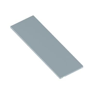 Supporto L 80 x P 30 x grigio / argento