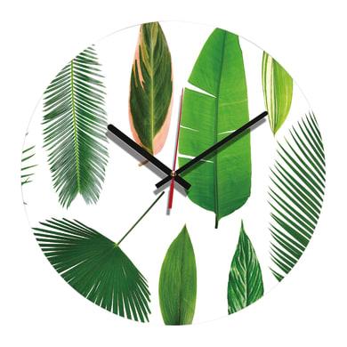 Orologio Green Leaf 34x34 cm