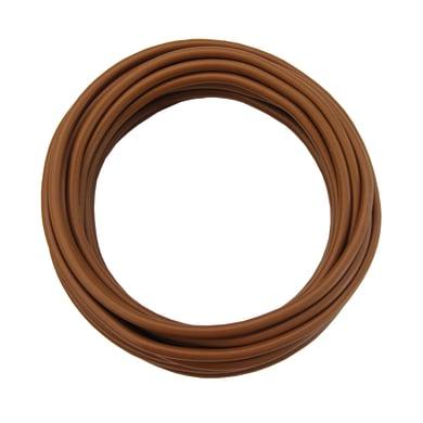 Cavo elettrico LEXMAN 1 filo x 2,5 mm² Matassa 25 m marrone