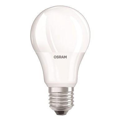 Lampadina LED, E27, Goccia, Opaco, Luce calda, 6W=470LM (equiv 40 W), 220° , OSRAM
