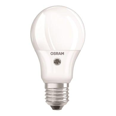 Lampadina LED, E27, Goccia, Opaco, Luce calda, 5.5W=470LM (equiv 40 W), 200° , OSRAM