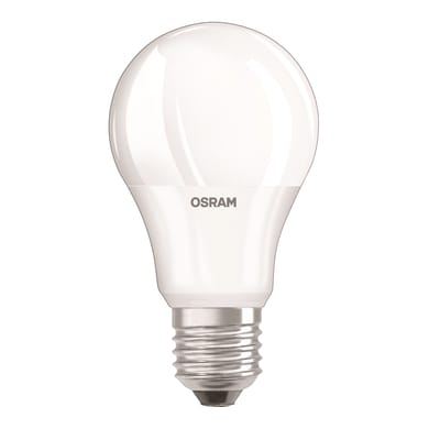 Lampadina LED, E27, Goccia, Opaco, Luce naturale, 6W=470LM (equiv 40 W), 220° , OSRAM