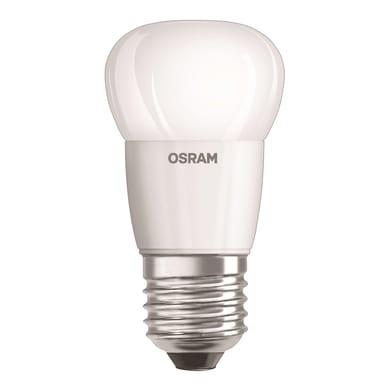 Lampadina LED, E27, Sferico, Opaco, Luce calda, 6W=470LM (equiv 40 W), 115° , OSRAM