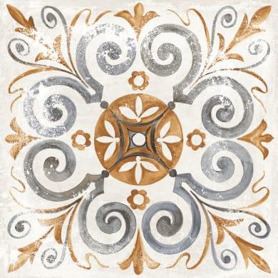 Piastrella DEKORE LILIE 61 x 61 cm sp. 20 mm PEI 4/5 multicolore