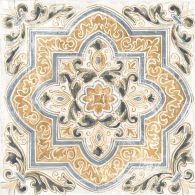 Piastrella DEKORE ARABISCH 61 x 61 cm sp. 20 mm  intens multicolore