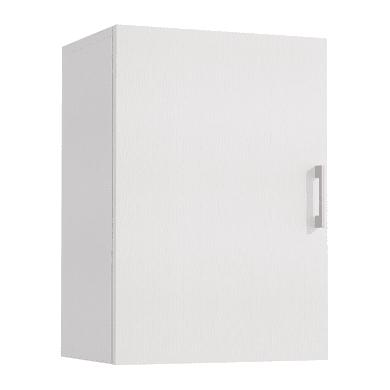 Armadio in kit in legno L 45 x P 32 x H 66 cm bianco