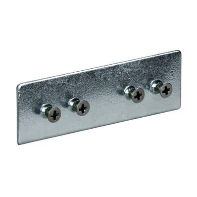 Raccordo in ferro grigio / argento