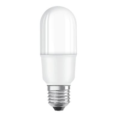 Lampadina LED E27 tubo bianco naturale 7W = 750LM (equiv 56W) 200° OSRAM