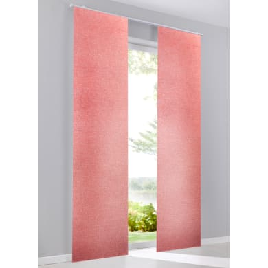 Pannello giapponese Ciley rosso 60x300 cm