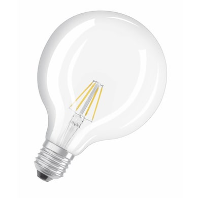 Lampadina Filamento LED E27 globo bianco caldo 7W = 250LM (equiv 60W) 320° OSRAM