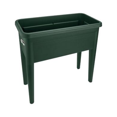 Box giardino urbano in polipropilene green basics grow table xxl ELHO verde L 36.5 x P 75.5 x H 65.1 cm