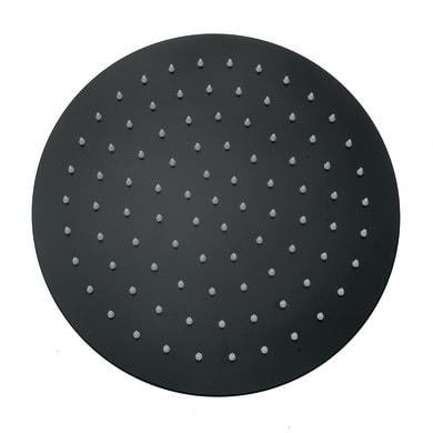 Soffione doccia Mirian Ø 30 cm in acciaio inossidabile nero dipinto MARCO MAMMOLITI