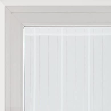 Tendina vetro Picasso bianco tunnel 45 x 170 cm