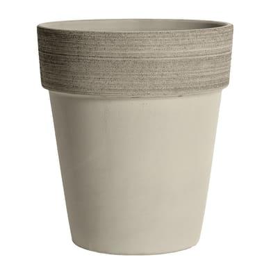 Vaso in terracotta colore marrone H 35 cm, Ø 31 cm