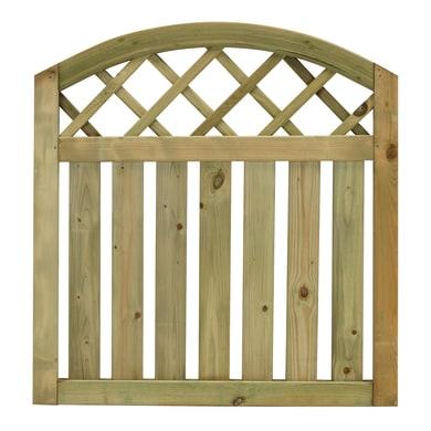Cancelletto Cancello ad onda Stisa  in legno
