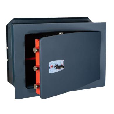 Cassaforte a chiave TECHNOMAX da murare L46 x P20 x H27 cm