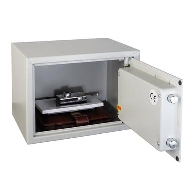 Cassaforte con codice elettronico TECHNOMAX da fissare a parete/da mobile con fissaggio L 35 x P 25 x H 25 cm