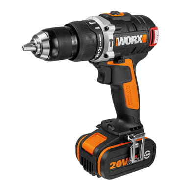 Avvitatore a batteria WORX WX373.1 20 V, 4 Ah, 1 batteria