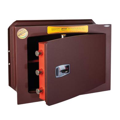 Cassaforte a chiave TECHNOMAX da murare L46 x P20 x H34 cm