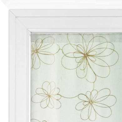Tendina vetro Caterina oro tunnel 60 x 240 cm