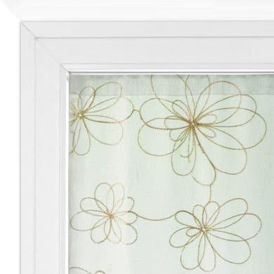 Tendina vetro Caterina oro tunnel 60 x 150 cm