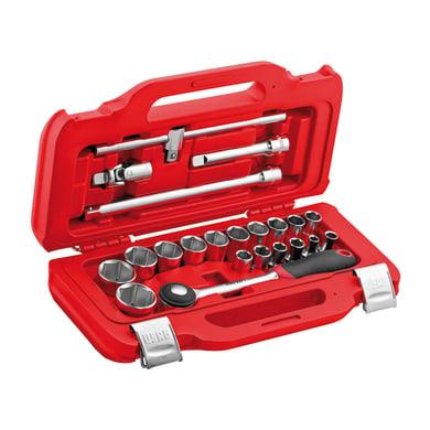 """Set utensili USAG 601 1/2"""" J22 , 22 pezzi"""
