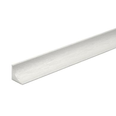 Profilo in alluminio 2.6 m x 1.5 cm naturale