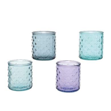 Porta tea light KAEMINGK H 10 cm, L 9 x L 9 cm