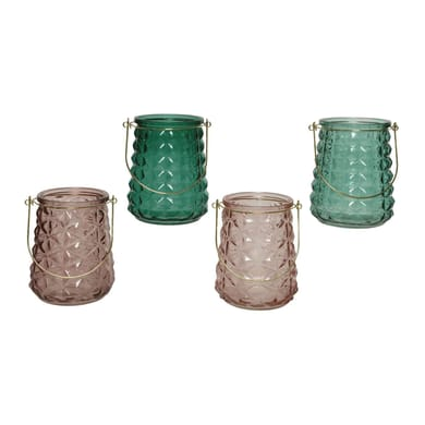 Porta tea light KAEMINGK H 13.5 cm, L 11 x L 11 cm