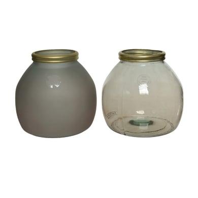 Vaso in vetro KAEMINGK H 20 cm Ø 21 cm