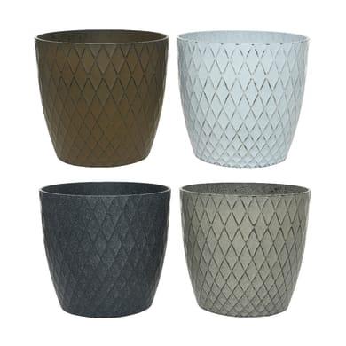 Vaso in plastica KAEMINGK H 32 cm Ø 35 cm