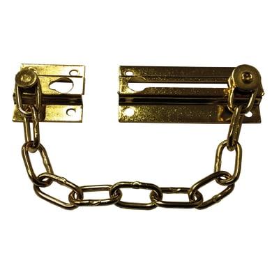 Catena di sicurezza per porte in acciaio L 112 x H 36 mm