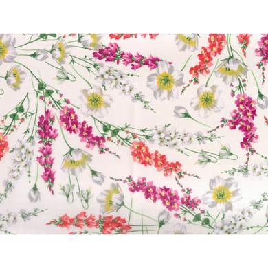 Tovaglia Antimacchia fiore rosso 140x175 cm