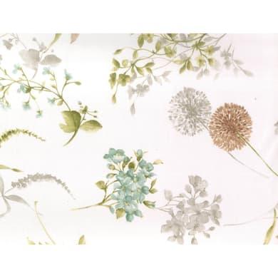 Tovaglia Antimacchia fiore grigio 140x175 cm