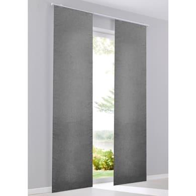 Pannello giapponese INSPIRE Lima grigio 60x300 cm
