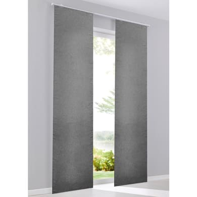 Pannello giapponese Lima grigio 60x300 cm