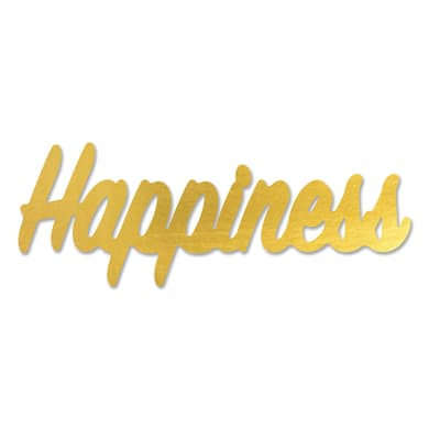 Sticker Happiness 60x22 cm