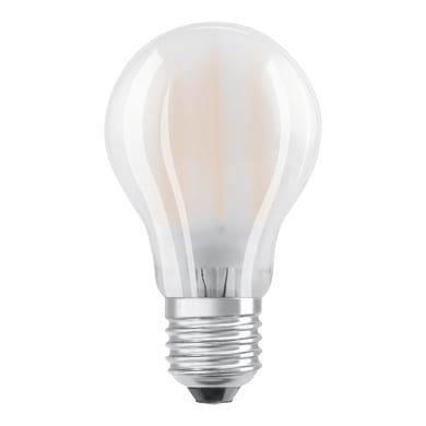 Lampadina LED filamento, E27, Goccia, Opaco, Luce calda, 8W=806LM (equiv 60 W), 300° , OSRAM