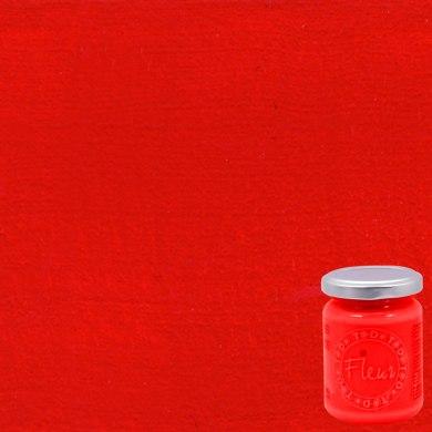 Colore acrilico FLEUR Cherry lips 0.33 L rosso opaco