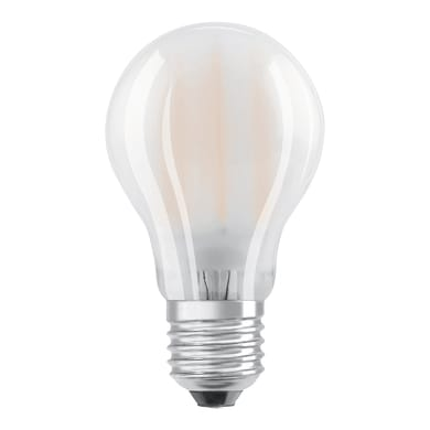 Lampadina LED filamento, E27, Goccia, Opaco, Luce naturale, 7W=806LM (equiv 60 W), 300° , OSRAM