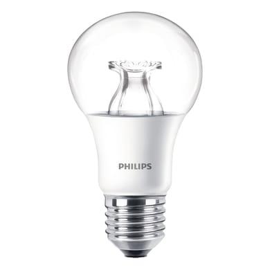 Lampadina LED E27 goccia bianco caldo 8.5W = 806LM (equiv 60W) 220° PHILIPS