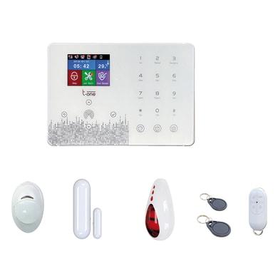 Allarme casa senza fili T-ONE Experience Pro bianco