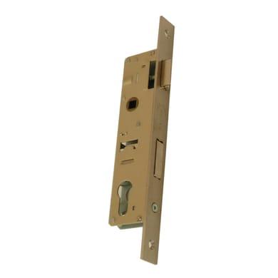 Serratura a incasso chiave per per porta di ingresso, entrata 2.5 cm, interasse 25 mm sinistra e destra